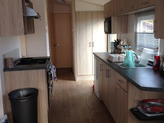 Nice caravan set in beautiful surroundings and various lakes