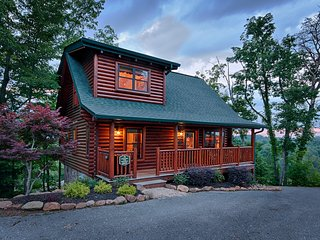 Heart to Heart ~ Willow Tree Cabins ~ 2 bedroom /2 bath log cabin., Pigeon Forge