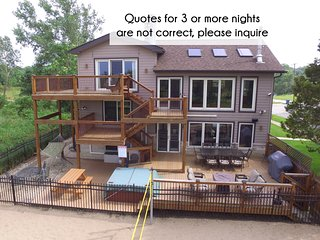 Lux Beachfront Slps 19, Chicago-40min, 2+ Ngt quotes NOT accurate, please ask!, Gary