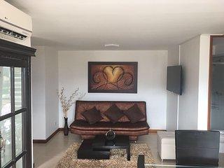 apartamento en medellin, loma de los bernal 2 habitaciones, hermosa vista