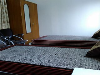 Family Twin Room near Jawahar Circle Garden