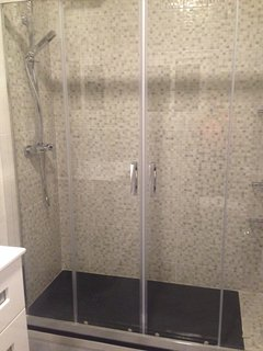 Shower Bathroom One section