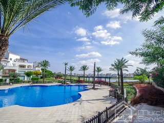 Modern, ground floor apartment with the best views on La Torre Golf Resort!, Roldán