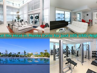 MONTE CARLO: Suite on the Beach W/Five-Star Amenities