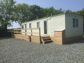 """Paddock View"" 4 berth Static Caravan. Mountain Farm, Broad Haven, Pembrokeshire"