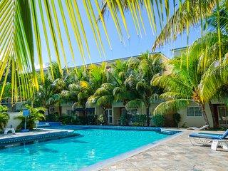 Vacances tropicales E2 pres de la plage du village