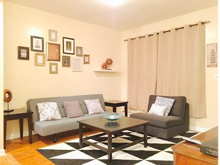 Fully furnished 2 bedroom, Sleeps 5, Close to Montefiore Hospital, Near Subway., Riverdale