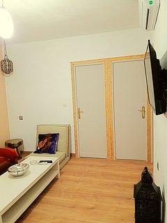 Salón y climatizador