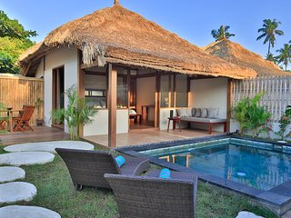Villa with private swimming pool, Gili Air