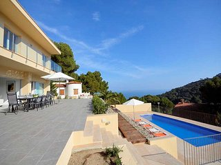 Villa 10p. in Begur Costa Brava with fantastic sea view, private pool
