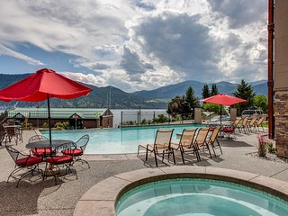 NEW! Posh 3BR Manson Condo-Overlooking Lake Chelan