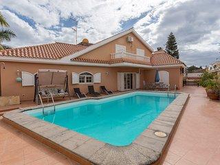 Villa con piscina y jardín privado en Maspalomas, Playa del Ingles