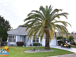 4 seater golf cart complimentary with your stay in this Wisteria Model home!