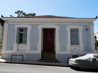 Neoclassical house with backyard in city center, Chania Town