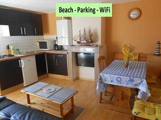 Appartement 45m2 bord de plage Dunkerque - Malo les Bains, Malo-les-Bains