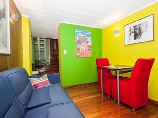 Bohemian Mezzanine in the heart of Recoleta Patio,Wifi,Cable TV