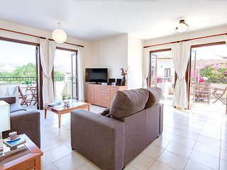 Relax and enjoy the views at Aglaia Apartment, Aphrodite Hills two bed apartment