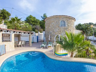 3 bedroom Villa in Moraira, Costa Blanca, Spain : ref 2096088, Teulada