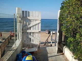 A nice house on the beach in Sperlonga for 4/6 persons