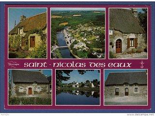 1960' Postcard our village