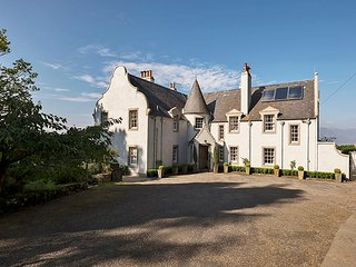The Wing at Duirinish Lodge, set in 18 acres of gardens and woodlands.