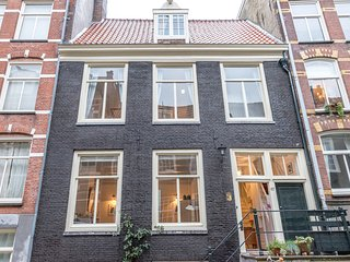 Characteristic house in the center of Amsterdam