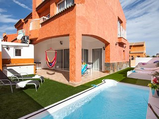 Villa Paradise. Fantastic villa with private pool, Corralejo