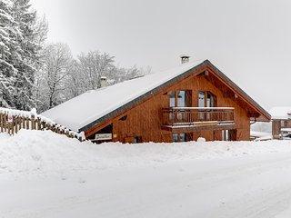 Twin-chalets in the heart of the Trois Vallees