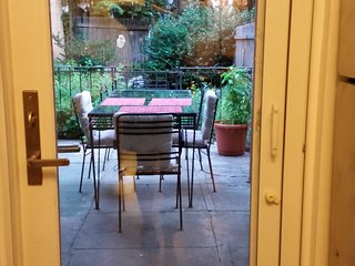 Private Garden apt-Park Slope, Brooklyn NYC Outdoor Space/Grill All Amenities