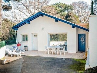 BIARRITZ  Maison, 3 chambres , terrasse, vue foret, 650m plage, Biarritz