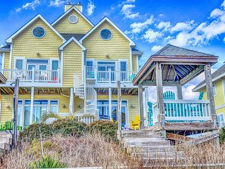 S. Shore Drive 106A Oceanfront! | Hot Tub, Elevator, Internet, Surf City