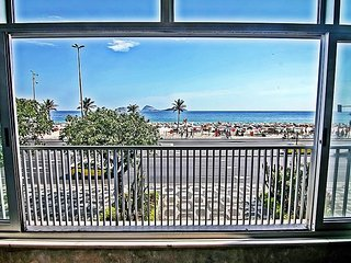 Apartment with beautiful beach view in Ipanema - Rio de Janeiro Q006