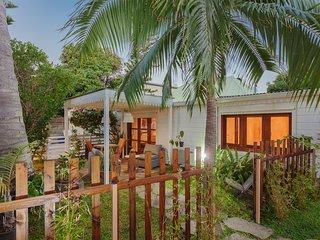 la veranda au coeur du jardin tropical