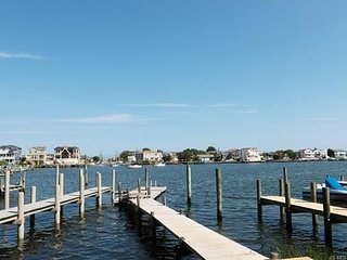 Bayfront House 3 BR 2 BA 2 Slips. Ship Bottom Lbi Bring Your Boat! Walk to Beach