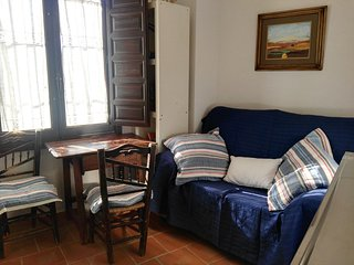Estudio en Casa en el Albaicin, con pequeño patio y terraza con vistas compartid