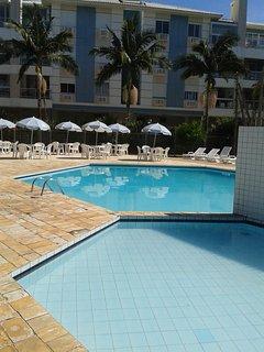 piscina área lazer