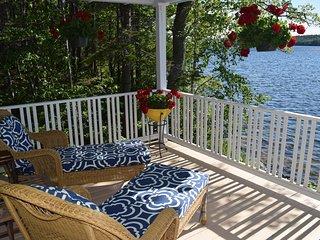 Classic Shingled Lakeside Cottage on Maine's Beautiful Down East Coast, Sedgwick