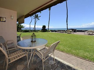 Beautiful ground floor oceanfront 1 bedroom, 1 bath condo