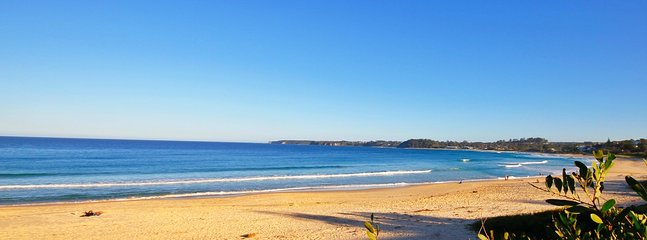 Mollymook Beach - a 7 min walk from the house