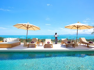 Villa White Tiger - 16m Infinity Pool with Sea View
