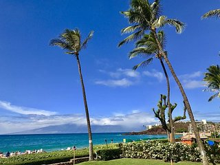Kaanapali Whaler 2BR Direct Oceanfront $450 until End of June Special