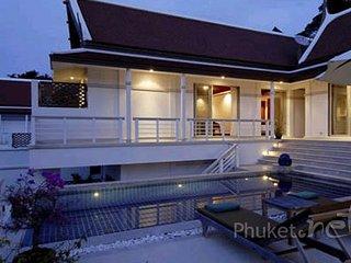 Luxury 3-Bed Thai Style Villa in Kata