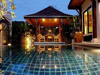 Serene 3-Bed Pool Villa in Layan