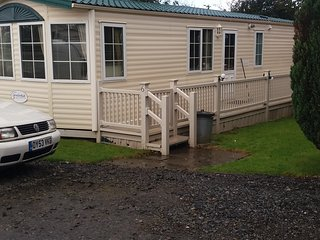 pet friendly static caravan, Launceston