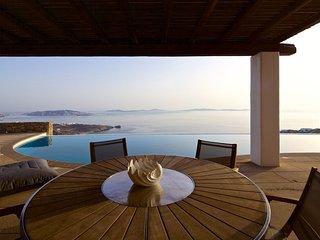 Mykonos Crystal Resort - Villa con Vista Mozzafiato, Agios Stefanos