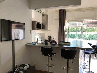 Mini villa T2 de 45m2 3 étoiles 3 clés à 200M de la plage et 10min de Bastia