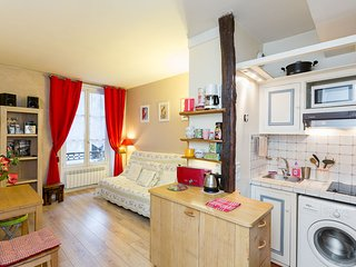 Lovely 1 BR in Marais, close to Notre-Dame and museums  / Lift