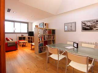 Ideal para visitar Barcelona. Family wellcome. Terrace. Wifi. Conditioned air