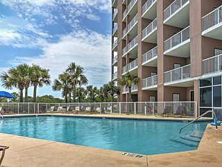 Vibrant 1BR West Gulf Shores Condo w/Wifi, Private Balcony & Stunning Ocean Views - Situated on the Peaceful Fort Morgan Peninsula!