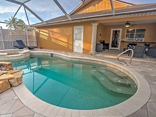 High-End Naples House w/ Pool - Walk to the Beach!